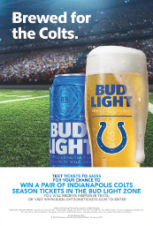 Brewed for the Colts