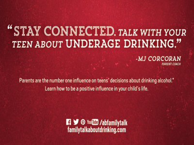 Underage Drinking Prevention starts with parents