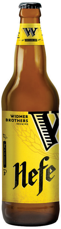 Widmer Brothers beer bottle
